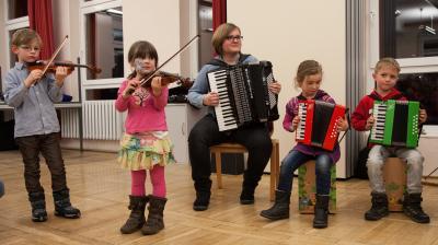 Foto zur Meldung: Mit kleinen Melodien in die Abschlussrunde