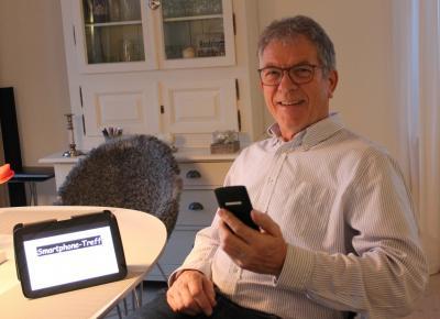 Foto zur Meldung: Smartphone-Treff für die Generation 60 plus