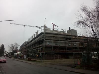 Foto zur Meldung: Und der Neubau wächst!