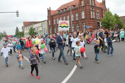 Foto zu Meldung: Kein Festumzug zum Stadtfest in diesem Jahr