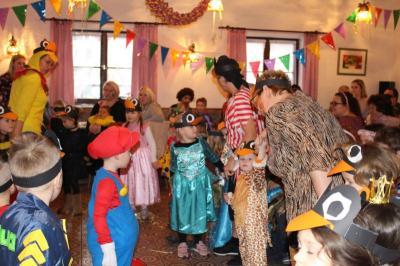 Foto zur Meldung: Eine tolle Kinderfaschingsfeier im Pfarrheim