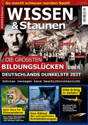 """Heft 1/2018 der """"WISSEN & Staunen"""""""