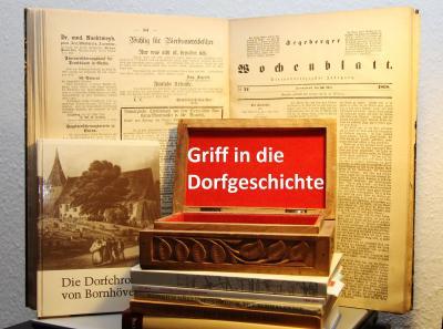 Foto zur Meldung: Schmalensee früher – Reiterverein präsentiert Militärmusik im Gasthof Voß