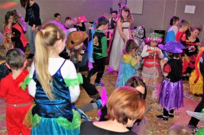 Foto zu Meldung: Kinderfasching im Turnerheim