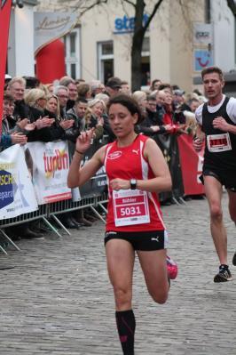 Vorschaubild zur Meldung: Sigrid Bühler wird Dritte beim Insellauf