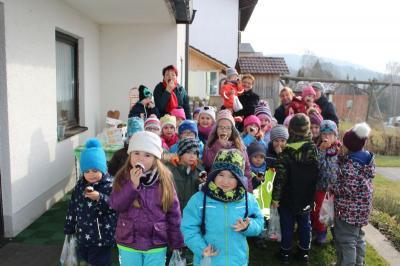 """Foto zur Meldung: Ein """"süßer"""" Kindergartentag"""