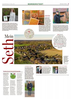 Vorschaubild zur Meldung: Bericht Hamburger Abendblatt - Mein Seth