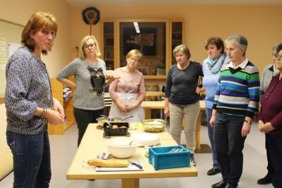 Foto zur Meldung: Kochabend beim Frauenbund
