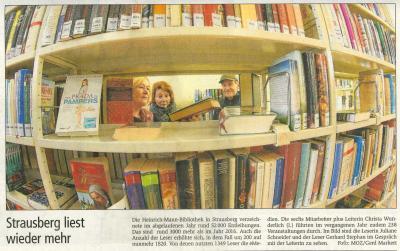 Foto zur Meldung: Strausberg liest