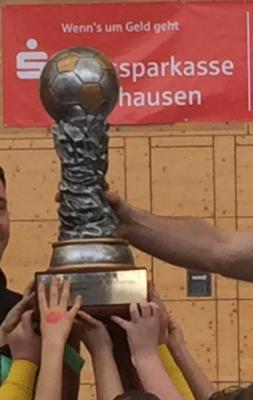 Foto zur Meldung: 8. Sparkassen-Cup der Fussballnachwuchs-Mannschaften