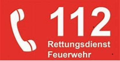 Vorschaubild zur Meldung: Tag des Notrufs 112