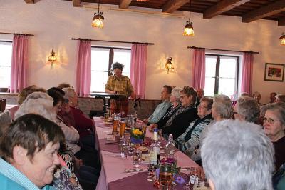 Vorschaubild zur Meldung: Die Senioren feierten einen lustigen Nachmittag