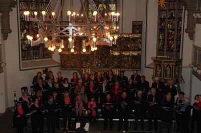 Vorschaubild zur Meldung: Lindhorster Chor begeistert in Meerbecker St. Bartholomäus-Kirche
