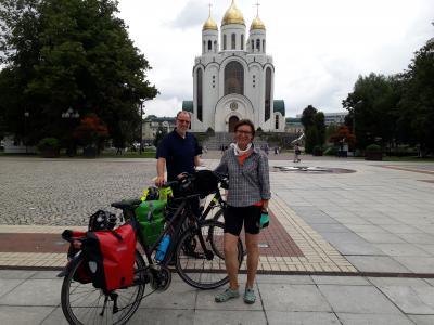 Vorschaubild zur Meldung: Ohne Plan per Rad durch Osteuropa