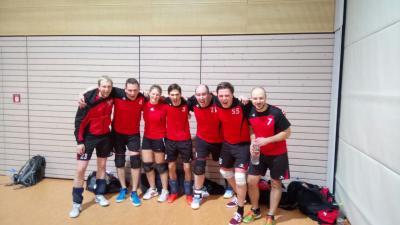 Foto zur Meldung: Erfolgreicher Start der Volleyballer des TV Kirchenlamitz in die Rückrunde!