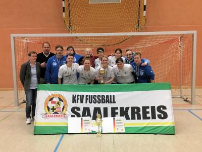 Sieger Hallenmaster 2018 - SV Blau-Weiß Dölau
