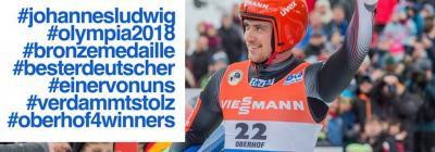 Foto zur Meldung: Bronze für unseren Johannes Ludwig!!!!!