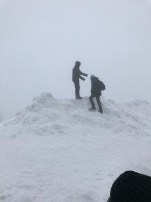 Vorschaubild zur Meldung: Winterwanderung mit der Partner Jugendfeuerwehr