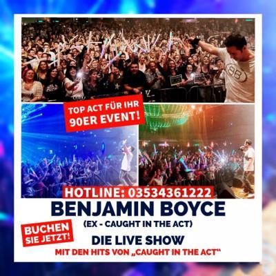 Vorschaubild zur Meldung: Benjamin Boyce - Top Act für ihr 90er Event