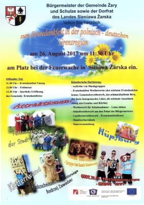 Vorschaubild zur Meldung: Erntedankfest in der Gemeinde Żary