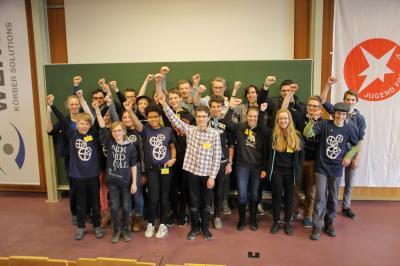 Teilnehmer des Johanneums beim Regionalwettbewerb