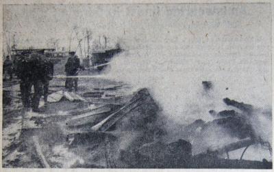 Foto zur Meldung: Vor 50 Jahren - Wassermangel für die Feuerwehr – Löschen mit Jauche