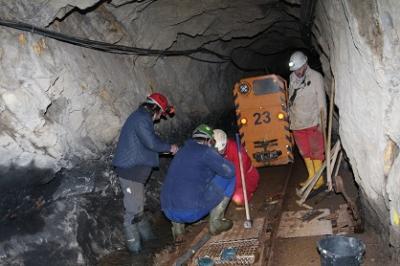 Foto zu Meldung: Vorbereitung auf die neue Saison / Bergwerksführer gesucht