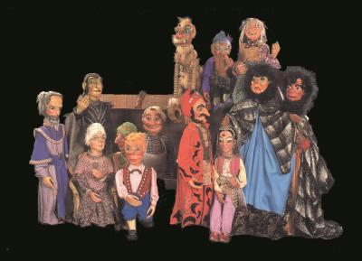 Foto zur Meldung: Marionettentheater