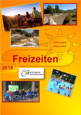 Vorschaubild zur Meldung: Neue Freizeitenbroschüre 2018