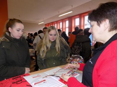 Vorschaubild zur Meldung: Karrieretag am Oberstufenzentrum in Wittenberge