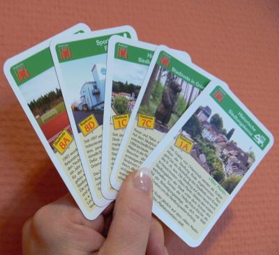 Vorschaubild zur Meldung: Neues Kartenspiel: Stadtroda als Quartett