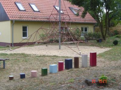 Gemeindehaus auf der Sport- und Freizeitanlage am Schwarzen See