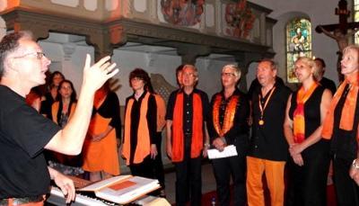 """Foto zur Meldung: Gospelchor """"Flaming Voices"""" eröffnet Musikjahr in Niemegk"""