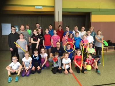 Foto zur Meldung: Kreisfachverband Schwimmen - Trainer,- und Aktivenschulung