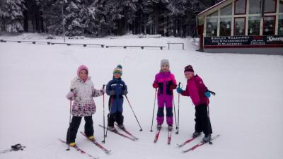 Skitraining in Masserberg