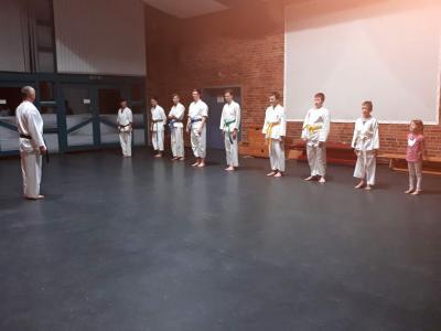 Vorschaubild zur Meldung: Karate-Verein bietet Probetraining an