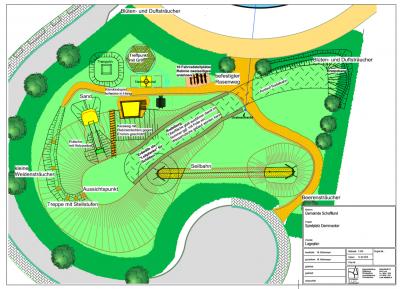 Foto zur Meldung: So wird der Spielplatz aussehen