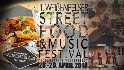 Vorschaubild zur Meldung: 1. Streetfood & Musicfestival in Weißenfels - Programmvorstellung, 28.+29.04.2018