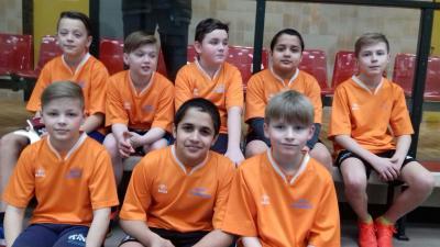 Foto zur Meldung: 5. Sepp Herberger Fußballtag mit 16 Grundschulen am 21.02.2018 in Karstädt