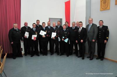 Vorschaubild zur Meldung: Jahreshauptversammlung der Freiwilligen Feuerwehr Biebergemünd - Ehrungen und Beförderungen