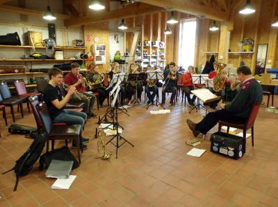 Musikalischer Posaunenfrühling in Barkhagen