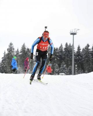 Foto zur Meldung: Deutschlandpokal Biathlon in Oberhof
