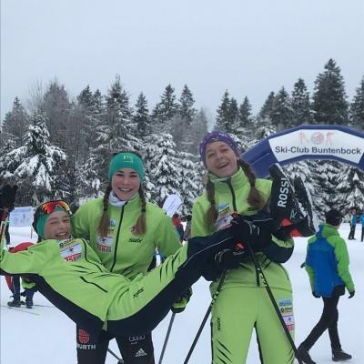 Foto zur Meldung: Schülercup Langlauf in Buntenbock