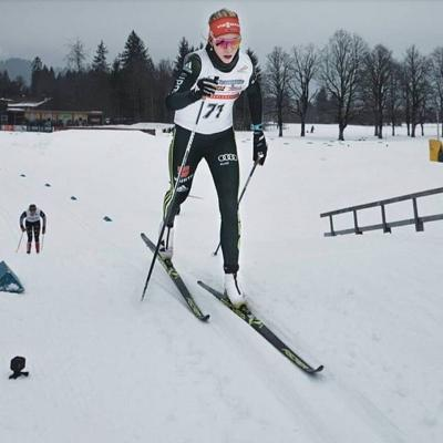 Foto zur Meldung: Deutschlandpokal / Deutsche Meisterschaft Langlauf in Oberstdorf