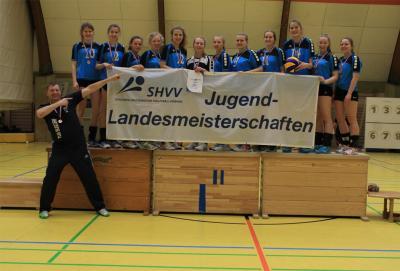Foto zur Meldung: Volleyball - Landesmeisterschaft U20
