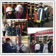 Vorschaubild zur Meldung: Klasse UH besucht die Freiwillige Feuerwehr in Weener