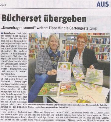 Foto zur Meldung: Neuenhagen summt