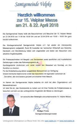 Grußwort des Samtgemeindebürgermeisters