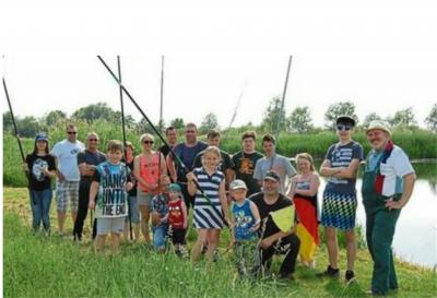 Foto zur Meldung: Drittes Schnupperangeln der Angelfreunde aus Klietznick