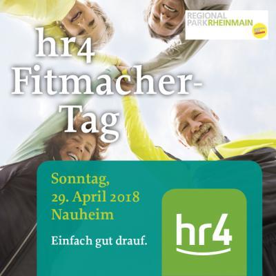 Vorschaubild zur Meldung: Der hr4-Fitmacher-Tag am 29.04.2018 in Nauheim